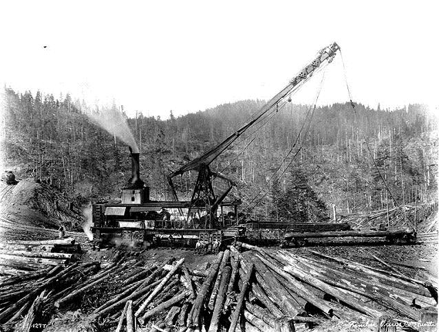 Lidgerwood skidder.